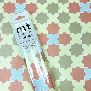 KAMOI mt CASA SHEET Decorative Wall Sticker (L) [Star Tiles (MT03WS4602)]