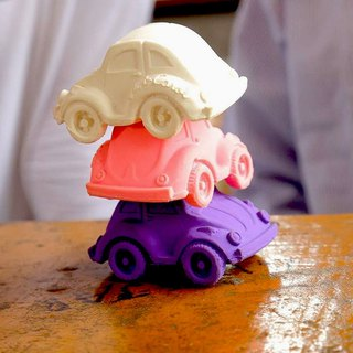 Goody Bag - Spain Oli&Carol – Modern Small Tortoise Car - Pink/Yellow/Purple 3