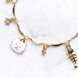 Limited Offer:: Healing Time :: Cute Cat Bracelet (Adjustable Size)
