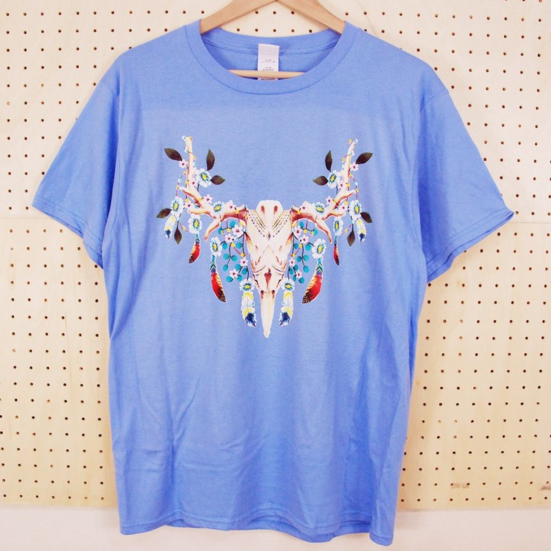"New Designer-T-shirt: Specimen Short Sleeve T-shirt ""Neutral / Slim"" (Carolina Blue) -850 Collections"