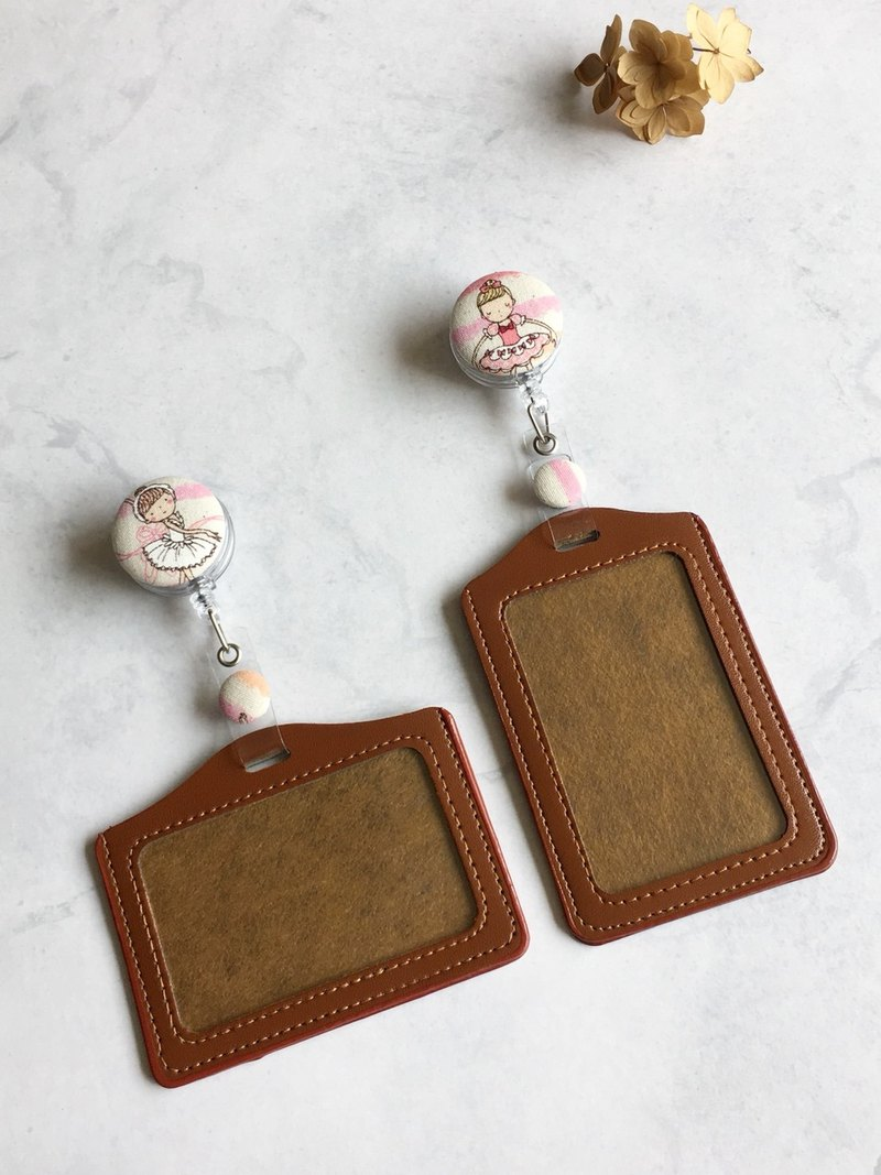 "Hand-made gift ""ALL PASS"" You card ID card holder Ticket holder"