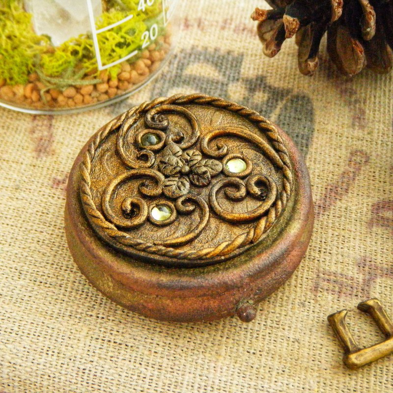Celtic Style Ancient Remedy Box, Peridot