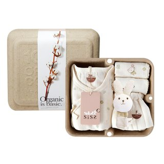 [SISSO Organic Cotton] Send you a small flower butterfly gift box 3M 6M