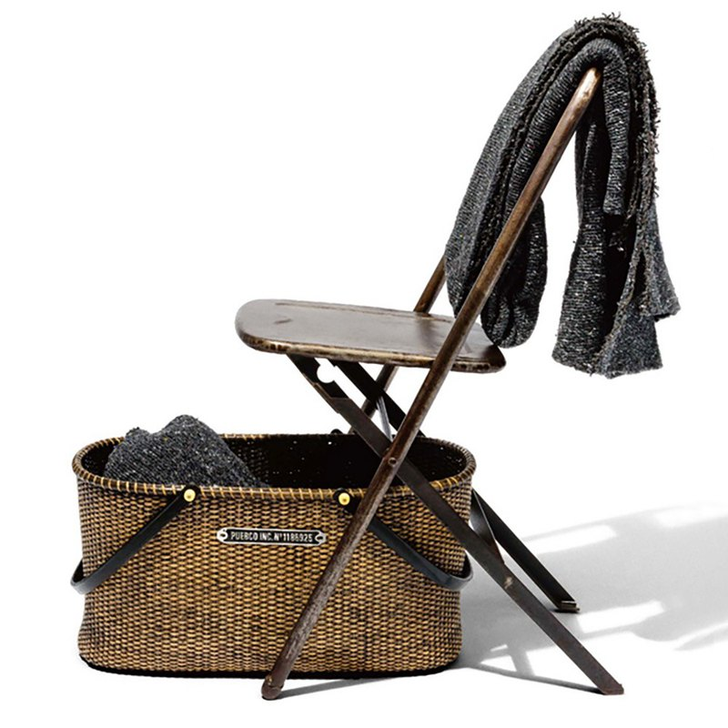 HARVEST BASKET European style portable shopping picnic basket