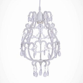 BNL00039- flower elegant transparent acrylic bead chandelier