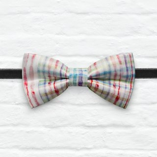 Style 0311 Printed Bowtie - Modern Boys Bowtie, Toddler Bowtie Toddler Bow tie, Groomsmen bow tie, Pre Tied and Adjustable Novioshk