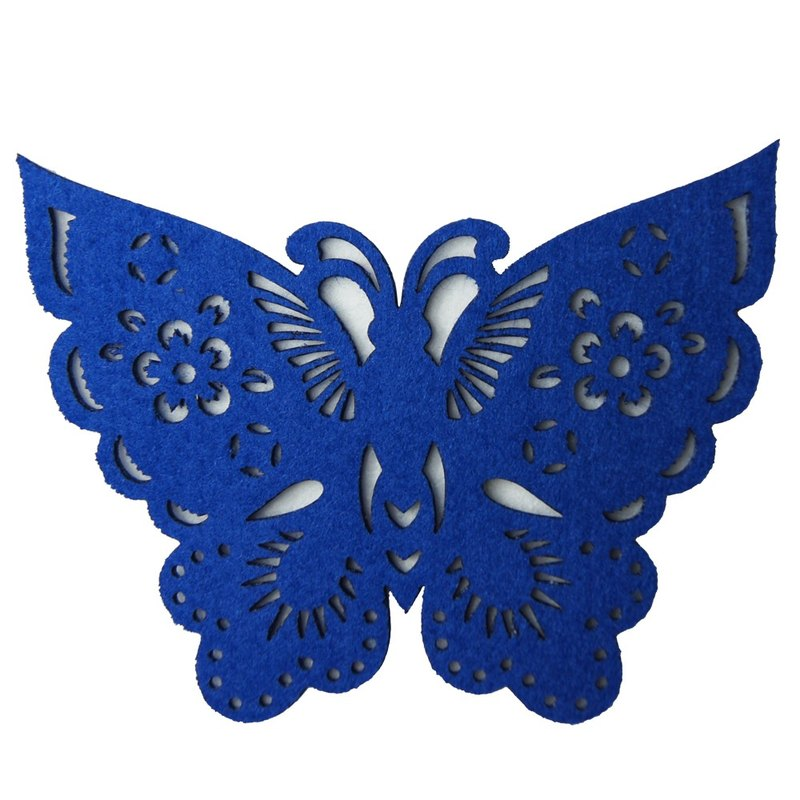 Xu Fu to Fleisch - Fu butterfly coaster - blue