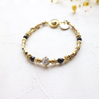 Jazz wonderland- Brass bracelet