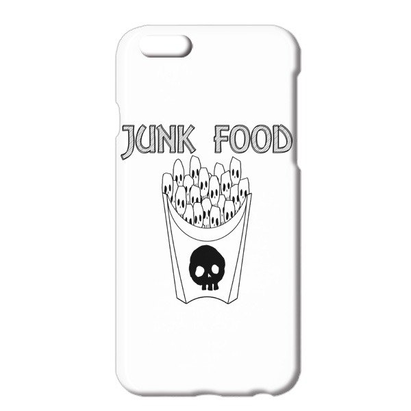 [iPhoneケース] skull French fries