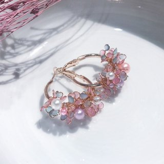Angel's Flower Basket Ear Pin [Mermaid Princess]