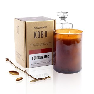 [KOBO] American Soybean Oil Candle - American Whisky (435g/combustible 100hr)