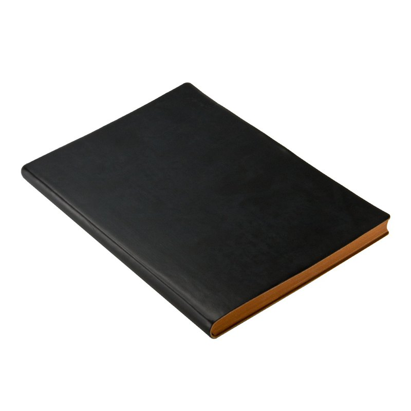 Daycraft Signature Lined Notebook – A5, Black