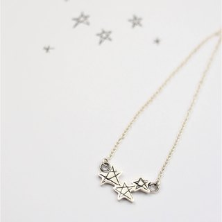 Children's painting accessories / Star necklace