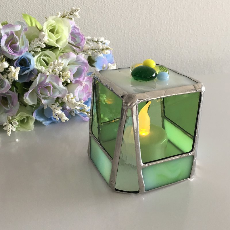 Sweet night LED Candle Holder Melon Green Bay View