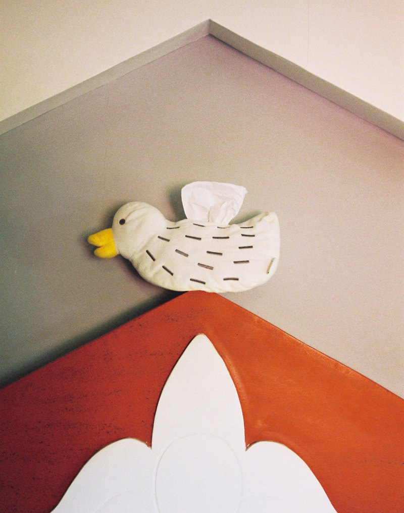 林李婆婆OLINLIO 小鴨子紙抽裝飾套