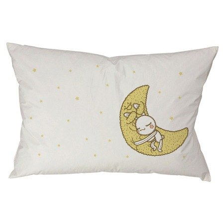 Foufou Pillow Case (single entry) - Have A Nice Dream (gray black / white)