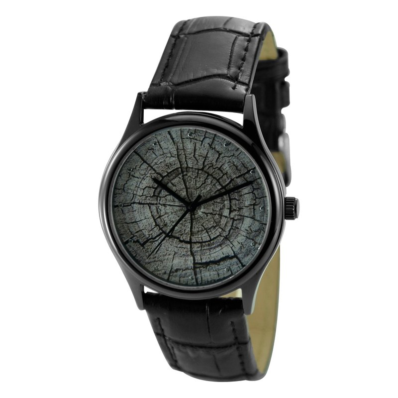 Christmas Gift Tree Ring Watch Black Unisex Free Shipping Worldwide