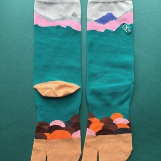 GillianSun Socks Collection【NEW Toe Socks】TABI_GY1802