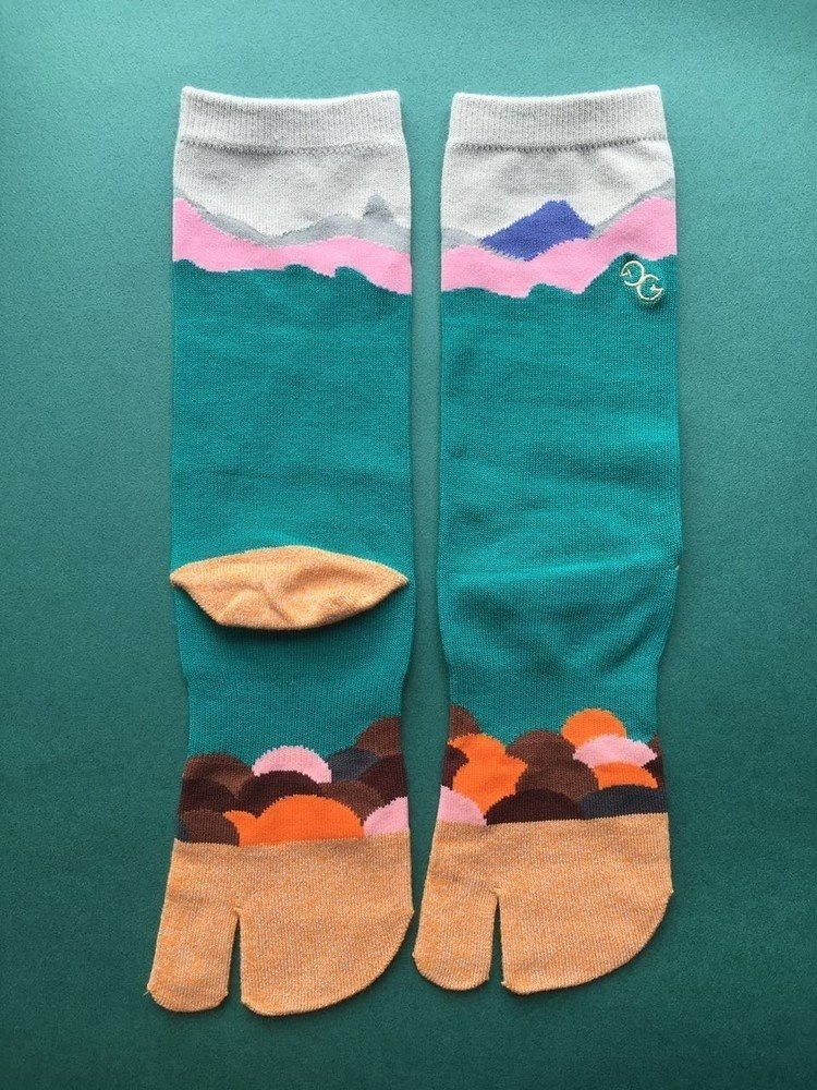GillianSun Socks Collection【NEW 兩趾襪】TABI_GY1802