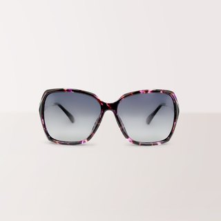 Alice wonderland│Rectangle purple sunglasses