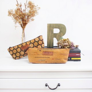 Cork Cosmetic bag/ Pencil Case/ Cosmetic Pouches/ Make Up bag