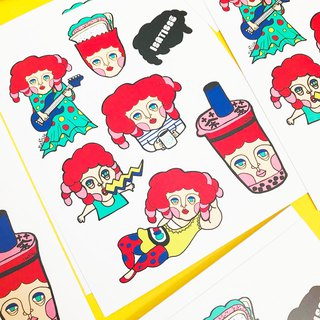 "ISATISSE ""ABEL Daily Life"" Pocket Stickers"