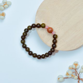 Ran Ran (Bracelet Series) Green Tan (8mm) -- Ankang