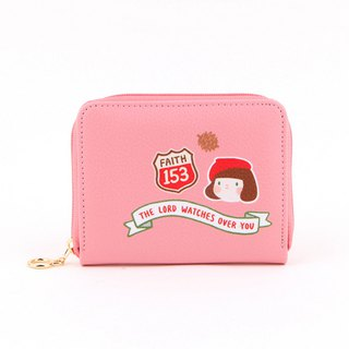 Hello Jenny Story Card Wallet 01 Strawberry powder