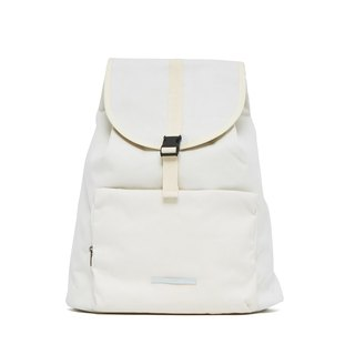 Roaming Series-15吋Simplified Constraint Rear Backpack-Bright White-RBP231WH