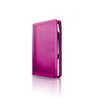 [LIEVO] SHOW - deep cherry red business card holder _