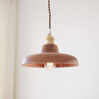 Handmade car made small peach vintage wooden chandelier (large) (line length can be customized)