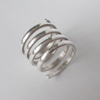 Lightup workshop - ring, miss, 999-Fine Silver
