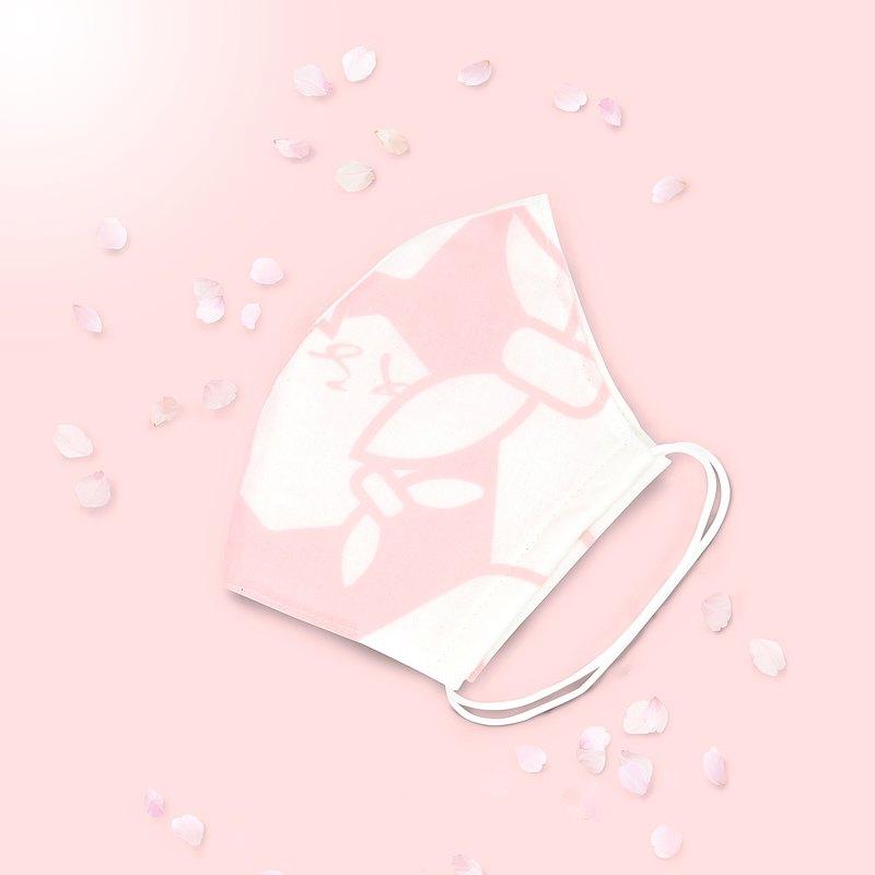 手巾紗布口罩/櫻花