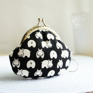 Lovely Xiaohe Makou Gold Coin Purse, Black