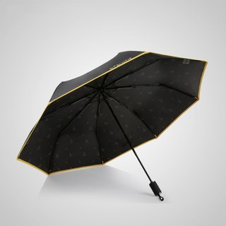[Germany Kobold] Anti-UV Rotating Ballet Series - Ultra-lightweight - Hidden Umbrella Beads - Shade Sunscreen 30 Fold Umbrella - Ochre Black