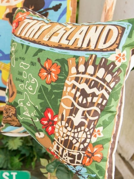 【Pre-order】 ✱ Hawaii TIKI totem pillow sets ✱ (two-color)