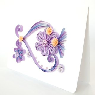 Hand made decorative cards-Best wishes