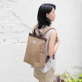 Prudence portable backpack(14'' Laptop OK)-Khaki_100448-14
