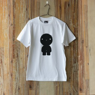 LU Hand screen print T-shirt  (CIRCLE)  ( S M L )