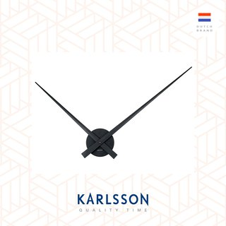 Karlsson Wall clock 90cm Little Big Time black