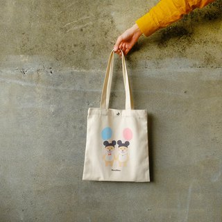 [plastic life] Chai Chai out date, canvas shopping bag