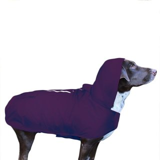 La Chamade / Purple Waterproof Dog Raincoat