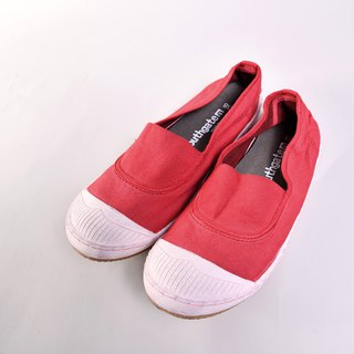 Casual shoes-ANN-d dyeing series Kyoto red