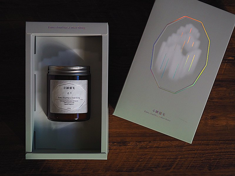 小缽盛光 ::: 03 洗滌心靈的時刻 :::  植癒系香氛蠟燭禮盒