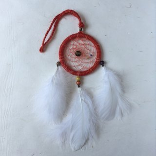 Handmade Dreamcatcher  |  10cm diameter  |  classic weave  |  unique present idea  |  mandarin