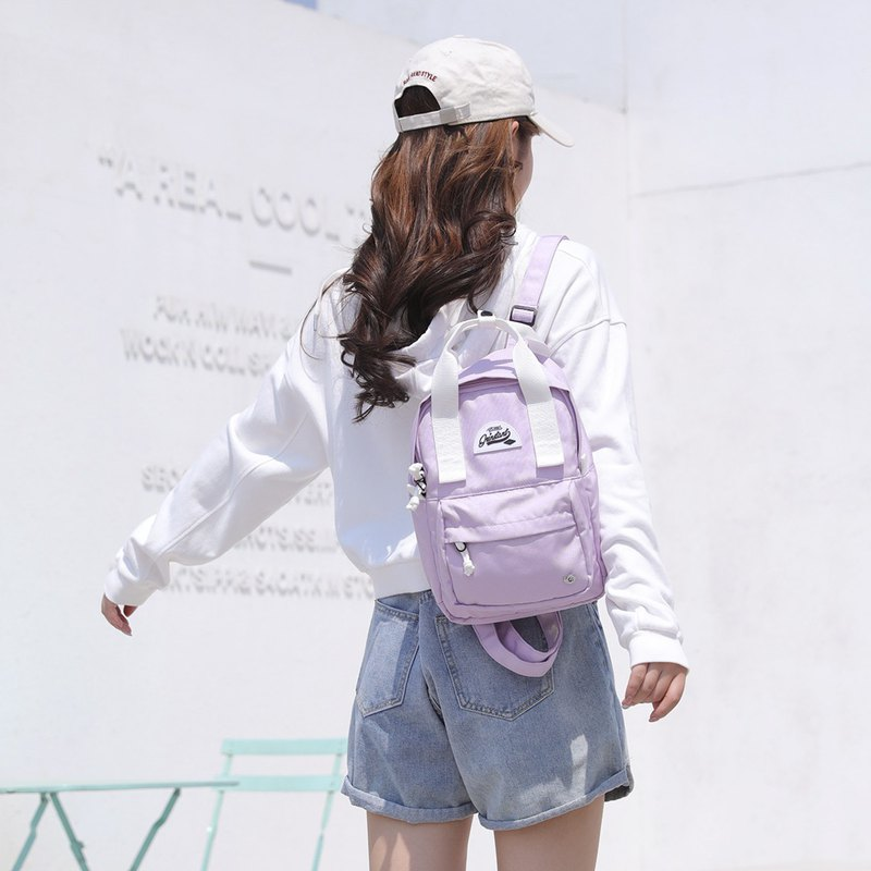 Grinstant 9.7-inch Mini Backpack-Dream Series (Lavender Purple)