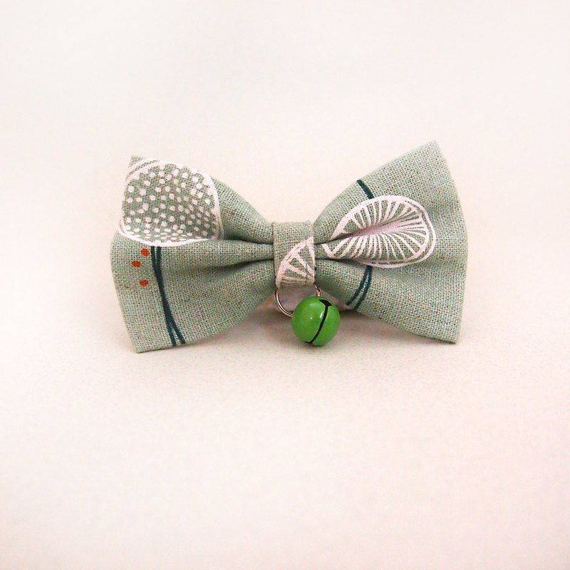 Dandelion bow pet decorative collar
