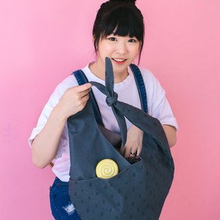 dark blue shoulder bag,tote bag,shopping bag
