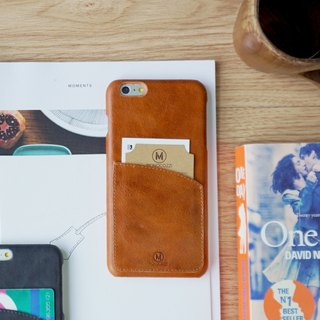 EXQUISITE | Leather Phone Case - IPHONE 6 / 6S - Coffee