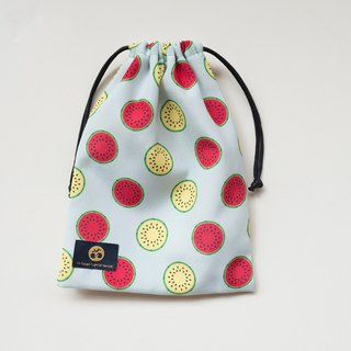 Full printed bouquet pocket (Large) Watermelon brother printed